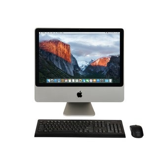 Apple iMac MA877LL/A20-inch Core 2 Duo 4GB-RAM 320GB-HD Mavericks 10.9 All-in-one Desktop Computer