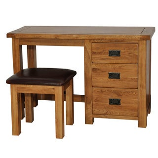 Gallerie Décor Oakdale Table/ Desk with Stool