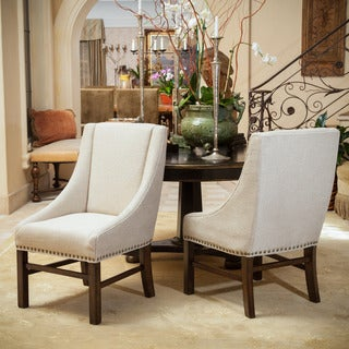 Christopher Knight Home James Fabric Dining Chair (Set of 2)