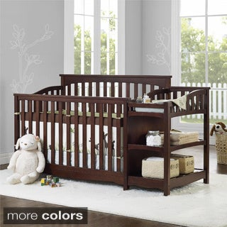 Baby Relax Bailey Crib and Changer Combo