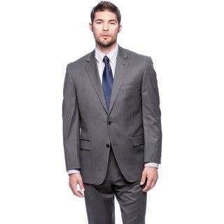 Michael Kors Grey Pinstripe Wool Suit