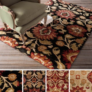 Haven Floral Shag Area Rug (5'3 x 7'3)