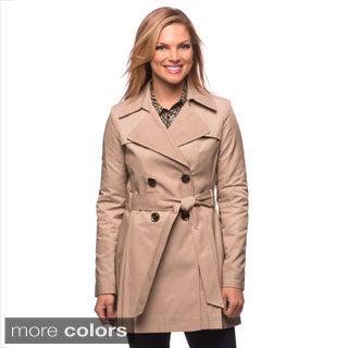 Via Spiga Women's Water-resistant Belted Trench Coat