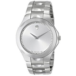 Movado Men's 606379 Luno Silver Stainless Steel Watch