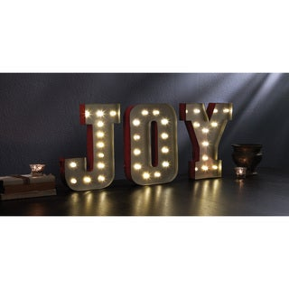 'JOY' Decorative LED Marquee Sign