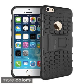 GearIt Bloc Series Hybrid Rugged Armor with Kickstand Case Cover for Apple iPhone 6 Plus 5.5-inch