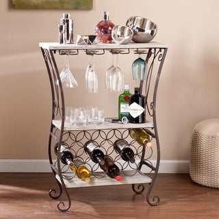 Upton Home Athens Wine Storage Table