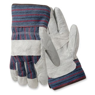Protective Ind. Large Leather Palm Gloves - 2/PR