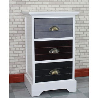 Gallerie Decor Burnside 3-drawer Cabinet