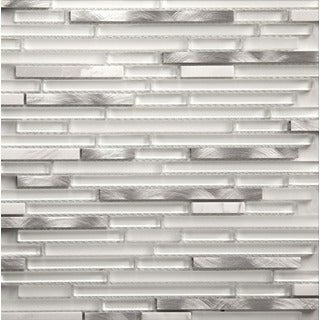 Martini Mosaic Riga Marble Ice 12 x 12-inch (Set of 8 Sheets)