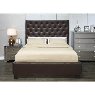 Pivot Direct Chesterfield Panel Platform Bed with Euro Slat System