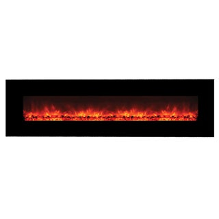 DF EFP1313NH Wall Mount Electric Fireplace with Remote Control