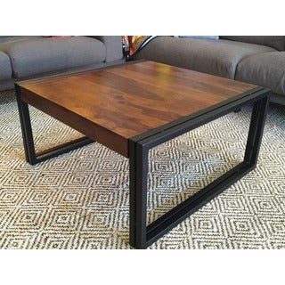 Timbergirl Reclaimed Solid Seesham Wood Coffee Table (India)