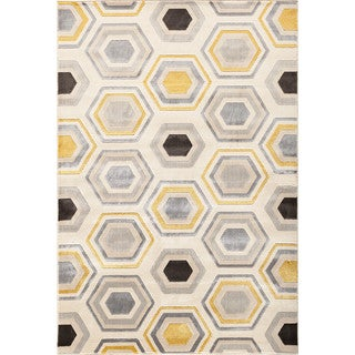 Christopher Knight Home Paris Citron Asher Pearl/ Multi Area Rug (7'10 x 9'10)