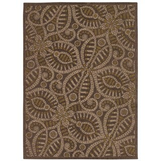 Waverly Color Motion by Nourison Fog Area Rug (5' x 7')