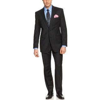 Calvin Klein Men's Two-Piece Slim Fit Wool Suit