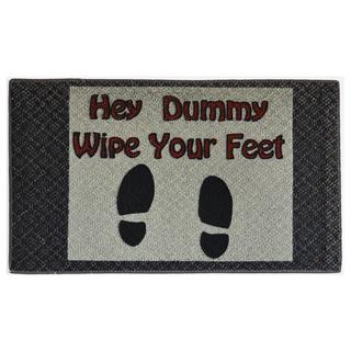 Wipe Your Feet Indoor Mat (1'6 x 2'3)