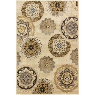 Christopher Knight Home Providence Terrain Vintage Pearl Area Rug (5' x 7'6)