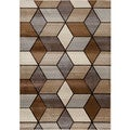 Christopher Knight Home Providence Terrain Angled Graph Beige Area Rug (7'10 x 9'10)