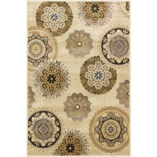 Christopher Knight Home Providence Terrain Vintage Pearl Area Rug (7'10 x 9'10)