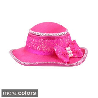 Jacki Design Cosmopolitan Hat Jewelry Box