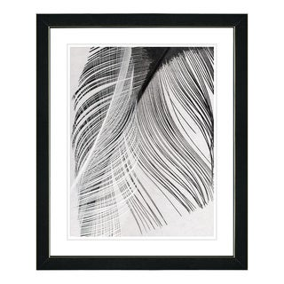 Studio Works Modern 'Feather Dance' Framed Fine Art Print