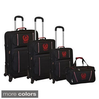 Beverly Hills Polo Club Open Road 4-Piece Spinner Luggage Set