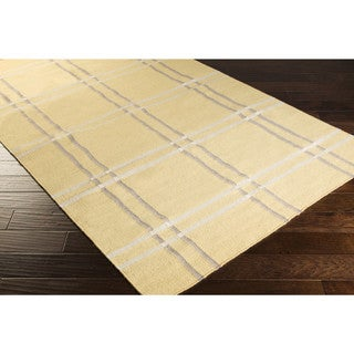 Hand-woven Lizzy Wool Area Rug (5' x 8')