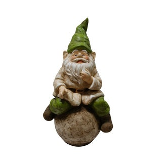 Gnome on Ball Statue
