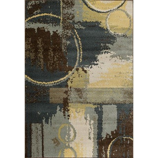 Christopher Knight Home Vintage Marigny Blue/ Brown Area Rug (5' x 7'6)