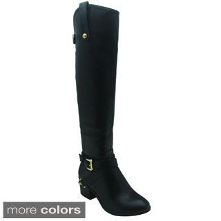 Olivia Miller Women's 'Stella' Over-the-Knee Riding Boots