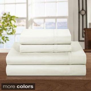 500 Thread Count Cotton Rich 4-piece Sheet Set