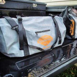 Tuff Tote Grey Waterproof PVC Bag