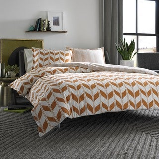 City Scene Amelia Cotton Reversible 3-piece Comforter Set