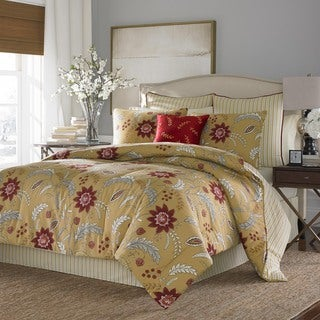 Stone Cottage Allegra Cotton Sateen 3-piece Duvet Cover Set and European Sham Set Seperates