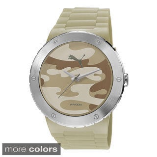 Puma Men's PU103331004 'Blast L' Camo Stainless Steel Watch