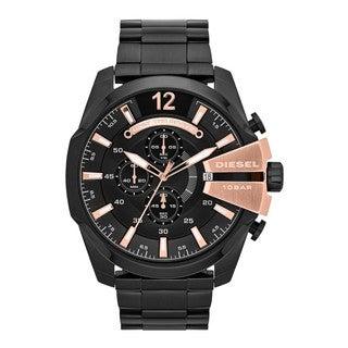 Diesel Men's DZ4309 Chief Black Stainless Steel Chronograph Watch