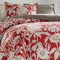 City Scene Cecilia Cotton 3-piece Reversible Comforter Set