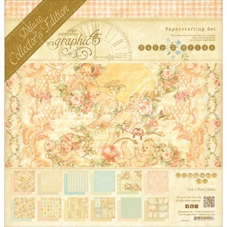 """Graphic 45 Deluxe Collector's Edition Pack 12""""X12""""-Baby 2 Bride"""