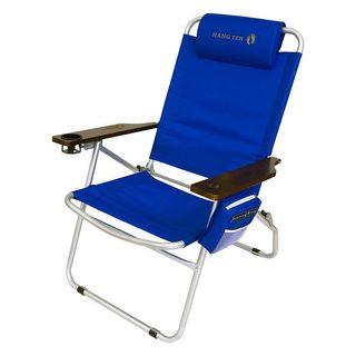 Hang Ten Mauna Loa 4 Position Oversized Beach Chair
