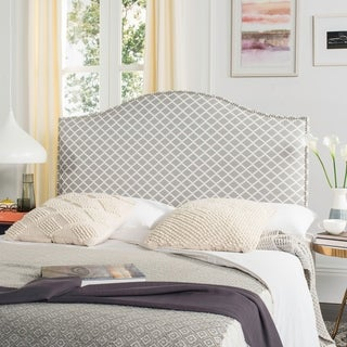 Safavieh Connie Grey/ White Headboard (Queen)