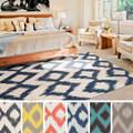 Flatweave Vierzon Wool Rug (9' x 13')