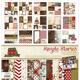 "Simple Stories Collection Kit 12""X12""-Cozy Christmas"