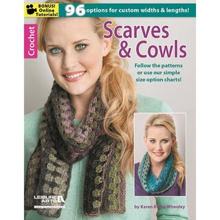 Leisure Arts-Crochet: Scarves & Cowls