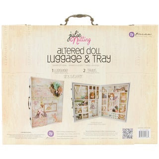 """Altered Doll Wooden Luggage W/Trays-15""""X11.5""""X3"""""""