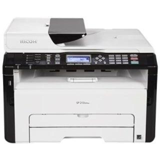 Ricoh SP 213SFNw Laser Multifunction Printer - Monochrome - Plain Pap