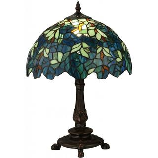17-inch Nightfall Wisteria Accent Lamp