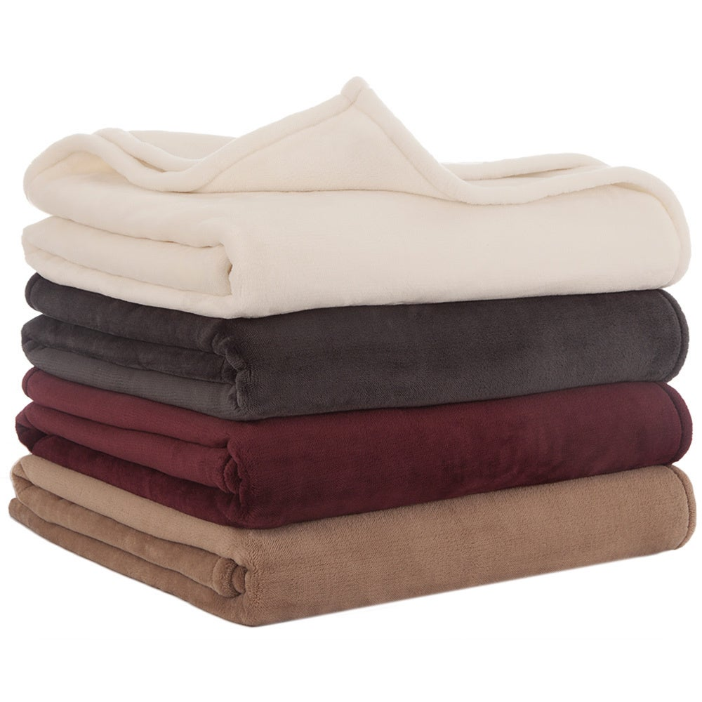 Vellux sheared mink blanket overstock shopping top for Vellux blanket