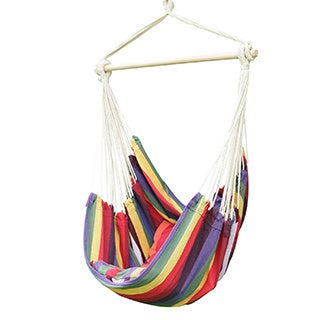 Adeco 2-person Hammock Chair with Pillows