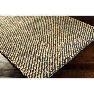 Hand-Woven Hattie Jute Dots Area Rug (5' x 8')